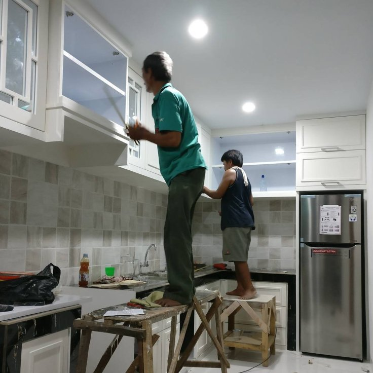 Kitchen set cat duco