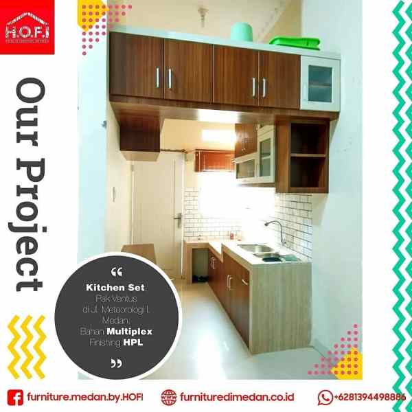 Kitchen set Medan Minimalis 1